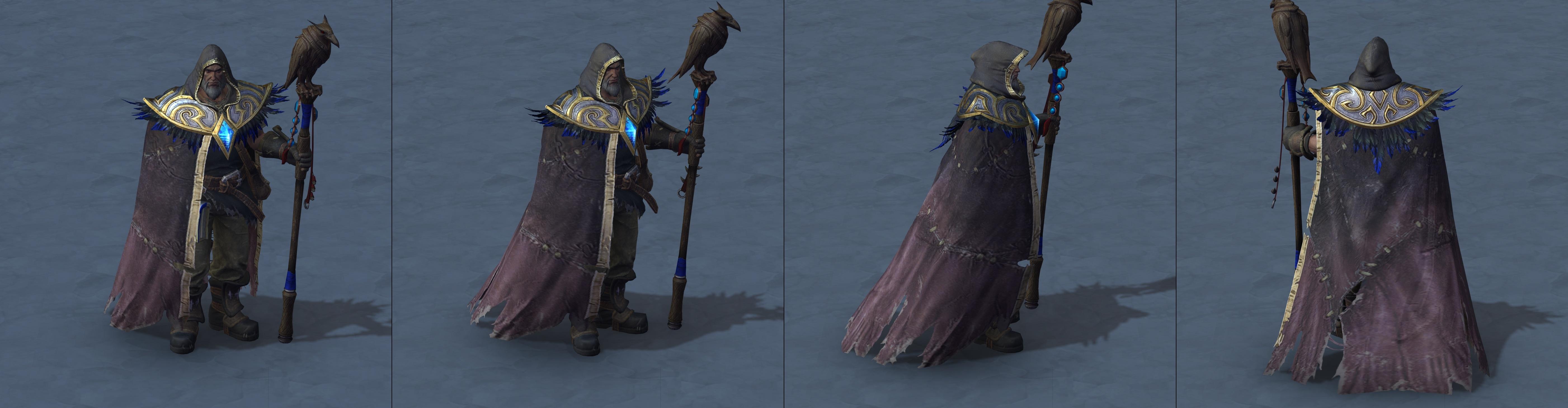 Утечка: озвучка и модели Сильваны, Артаса, Джайны и других персонажей Wacraft III: Reforged 14