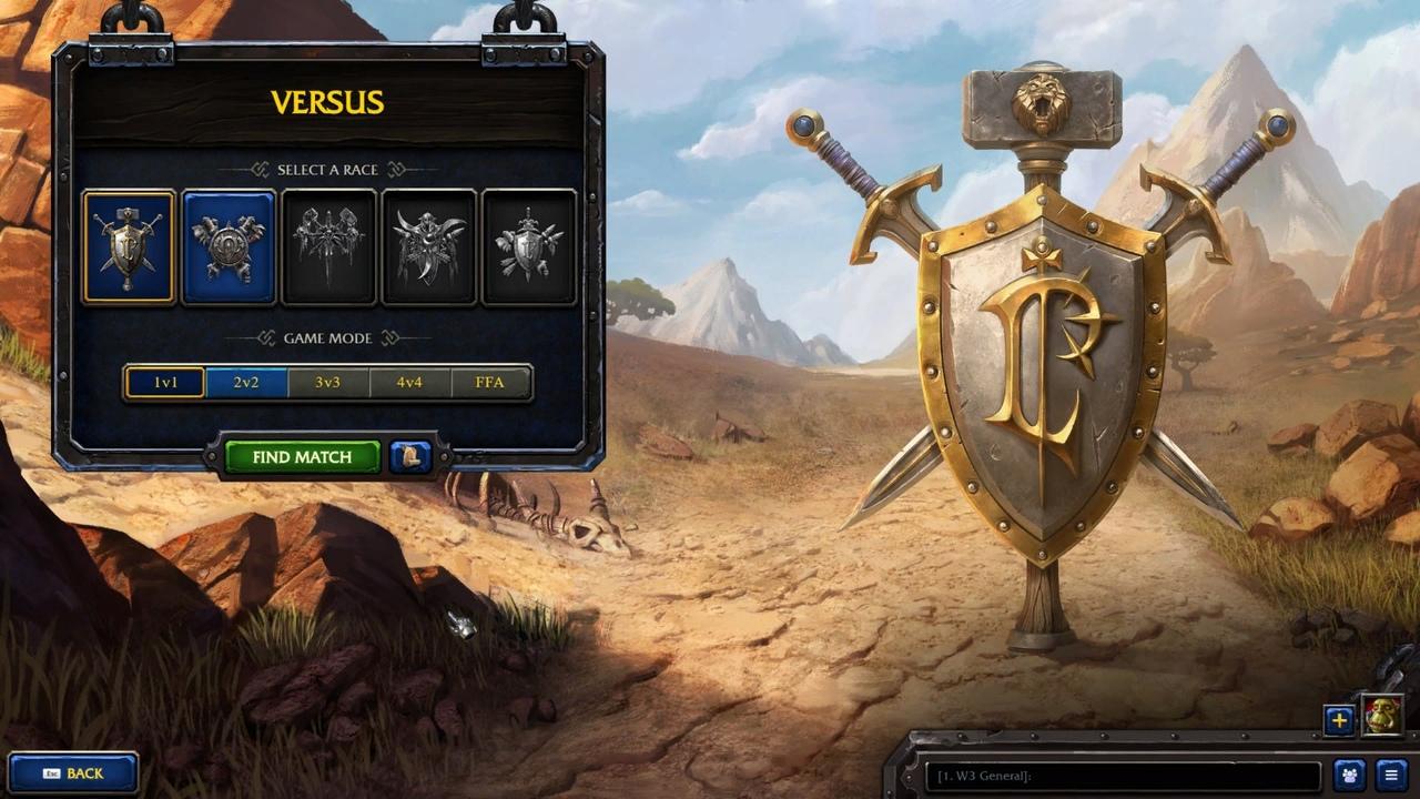 Утечка: обои, меню и иконки Warcraft III: Reforged
