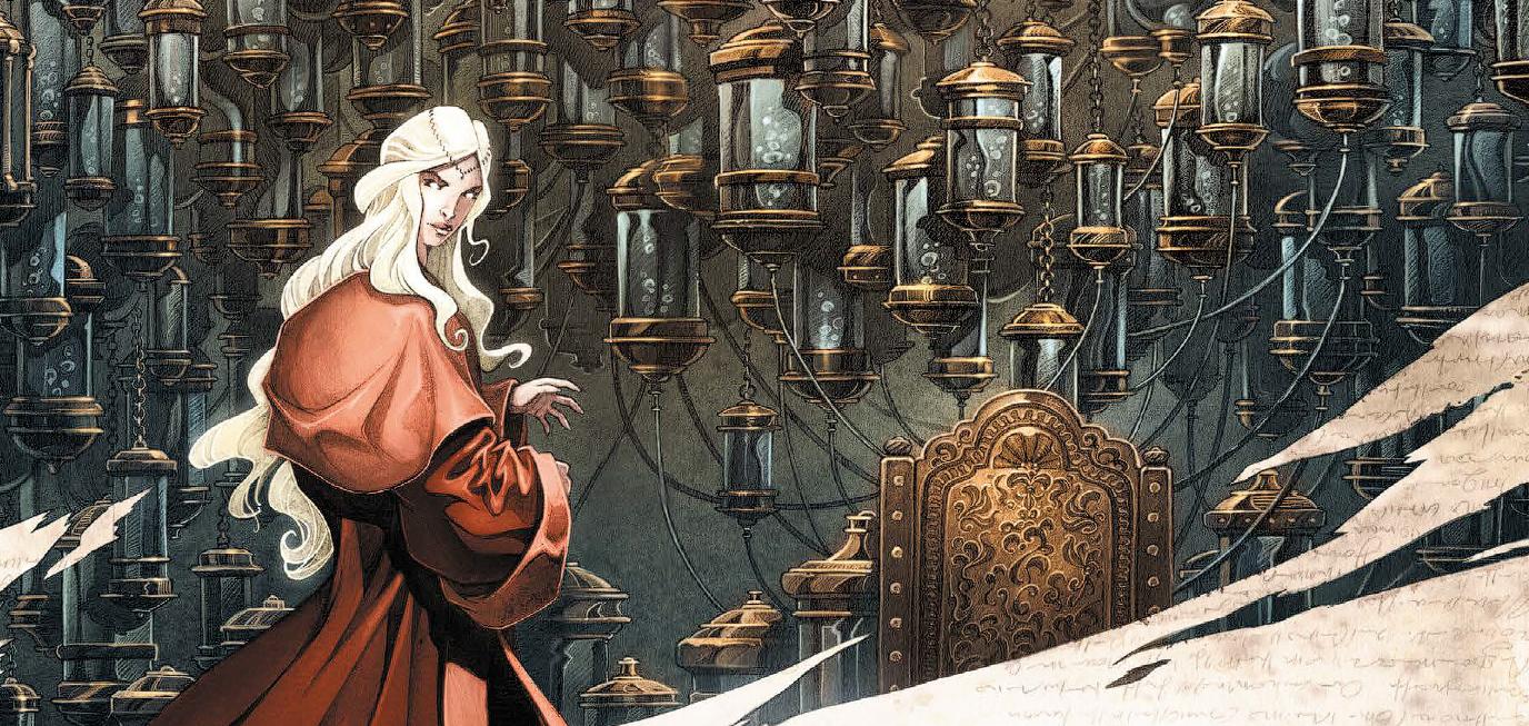 Что почитать: второй том красивого фэнтези «Единорог» и история о жизни и смерти «Мечтатель»