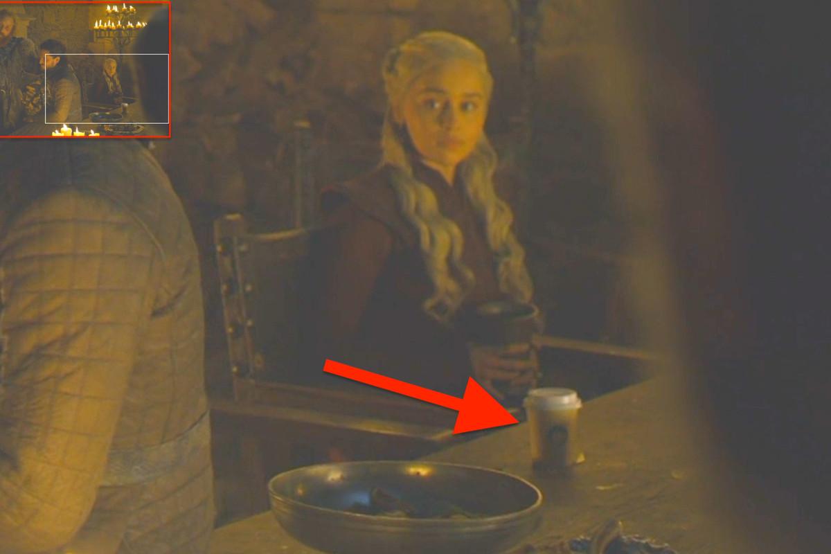 Эмилия Кларк рассказала, из-за кого в кадр «Игры престолов»попал стаканчик из «Старбакса»