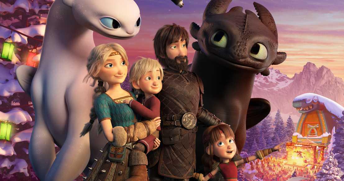 DreamWorks выпустить новогодний мультфильм «Как приручить дракона: Возвращение домой»