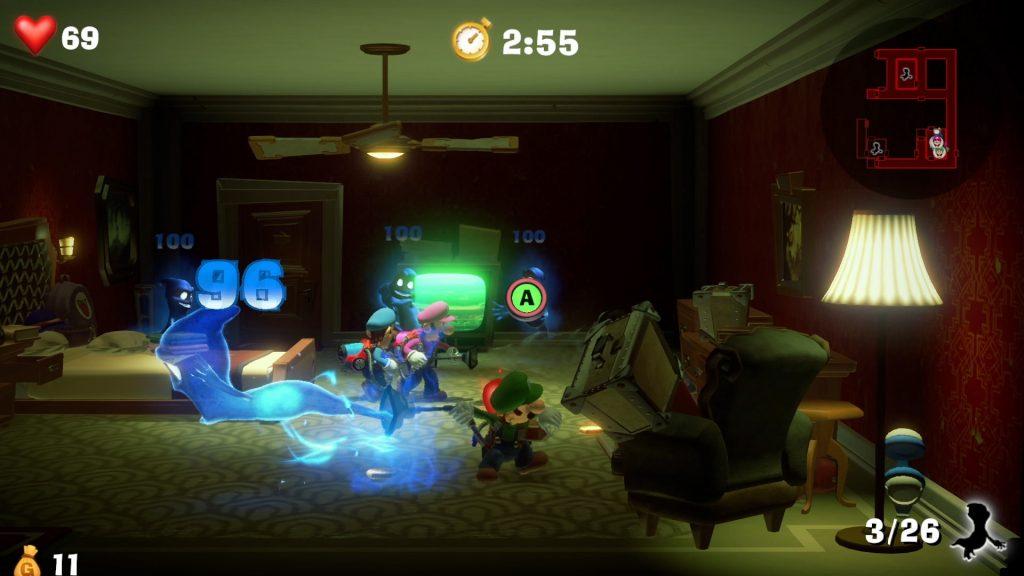 Обзор Luigi's Mansion 3. Отель с привидениями 6