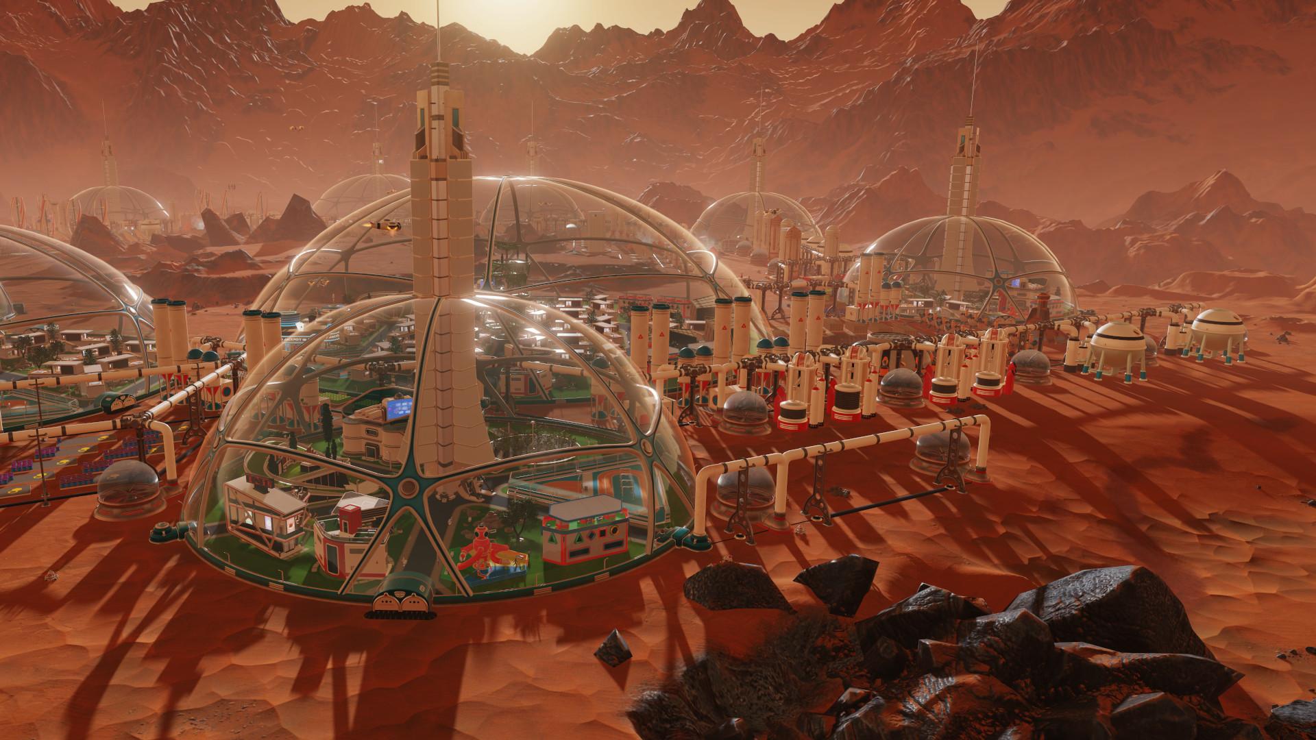 Раздача: экономическая стратегия Surviving Mars и PDF-версия книг правил Tales from the Loop RPG