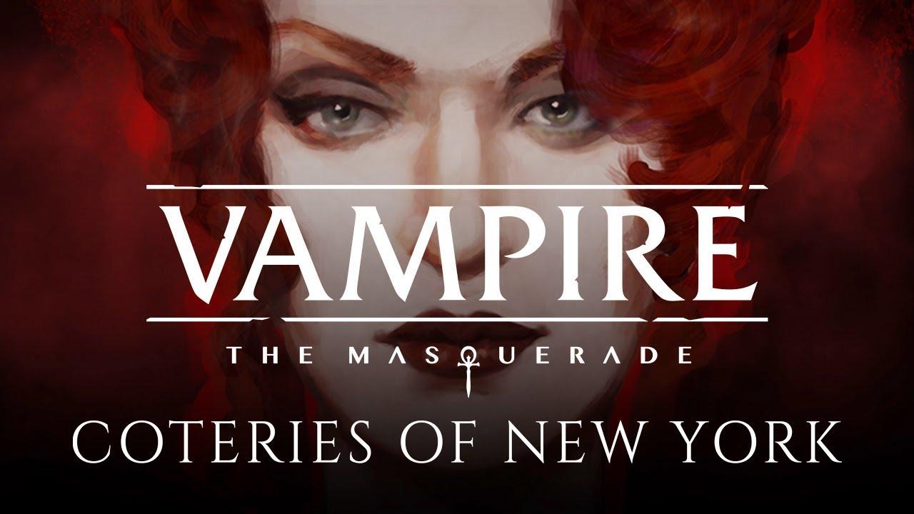 Геймплейный ролик Vampire: The Masquerade – Coteries of New York, визуальной новеллы по Миру Тьмы