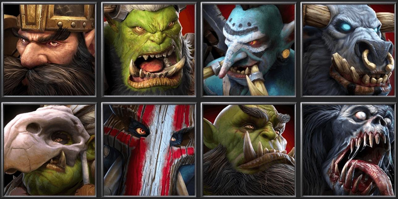 Утечка: обои, меню, интерфейс и иконки Warcraft III: Reforged 16