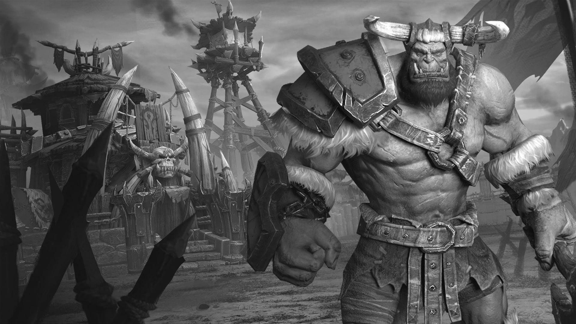 Утечка: обои, меню, интерфейс и иконки Warcraft III: Reforged 10
