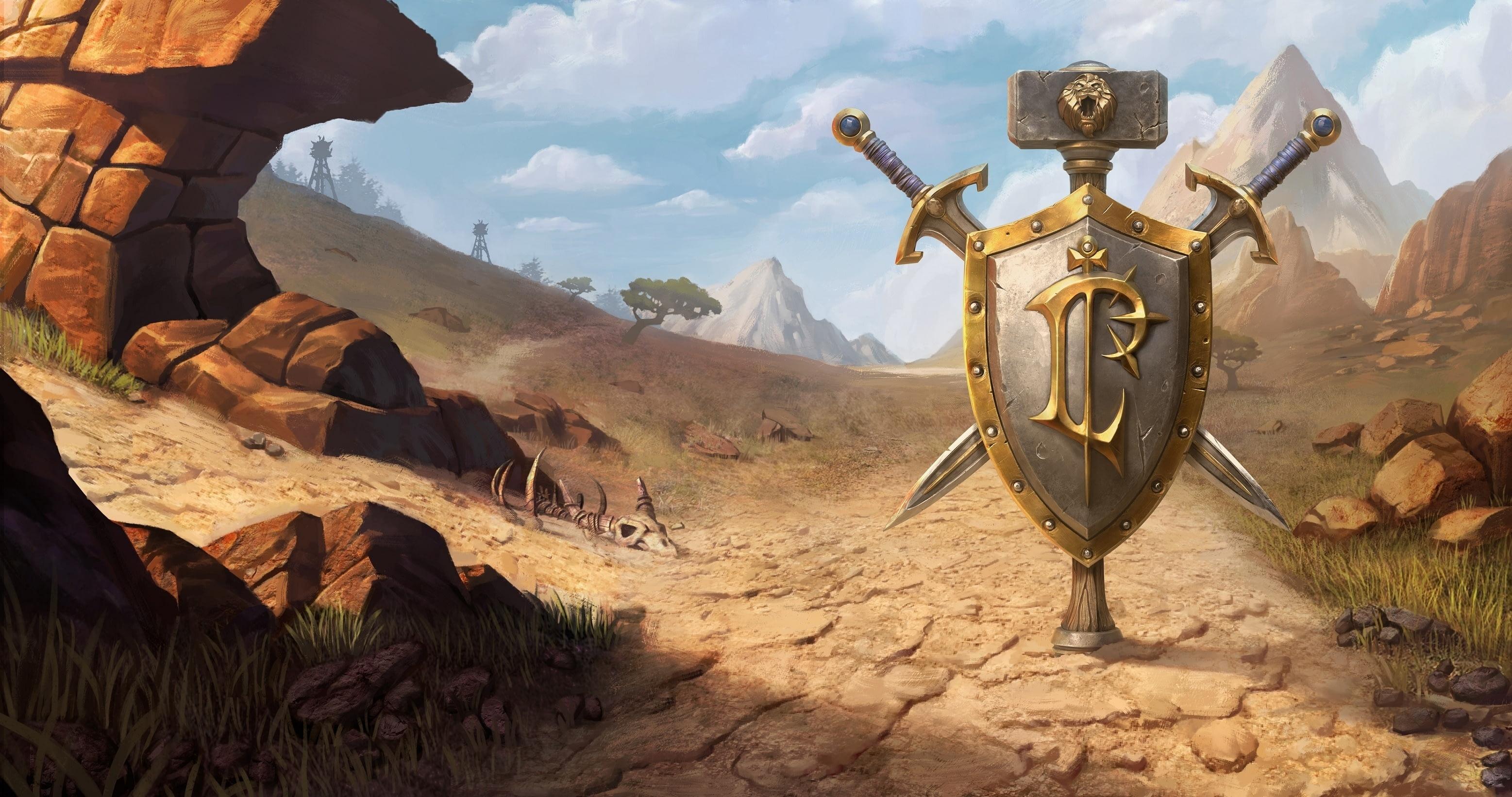 Утечка: обои, меню, интерфейс и иконки Warcraft III: Reforged 11