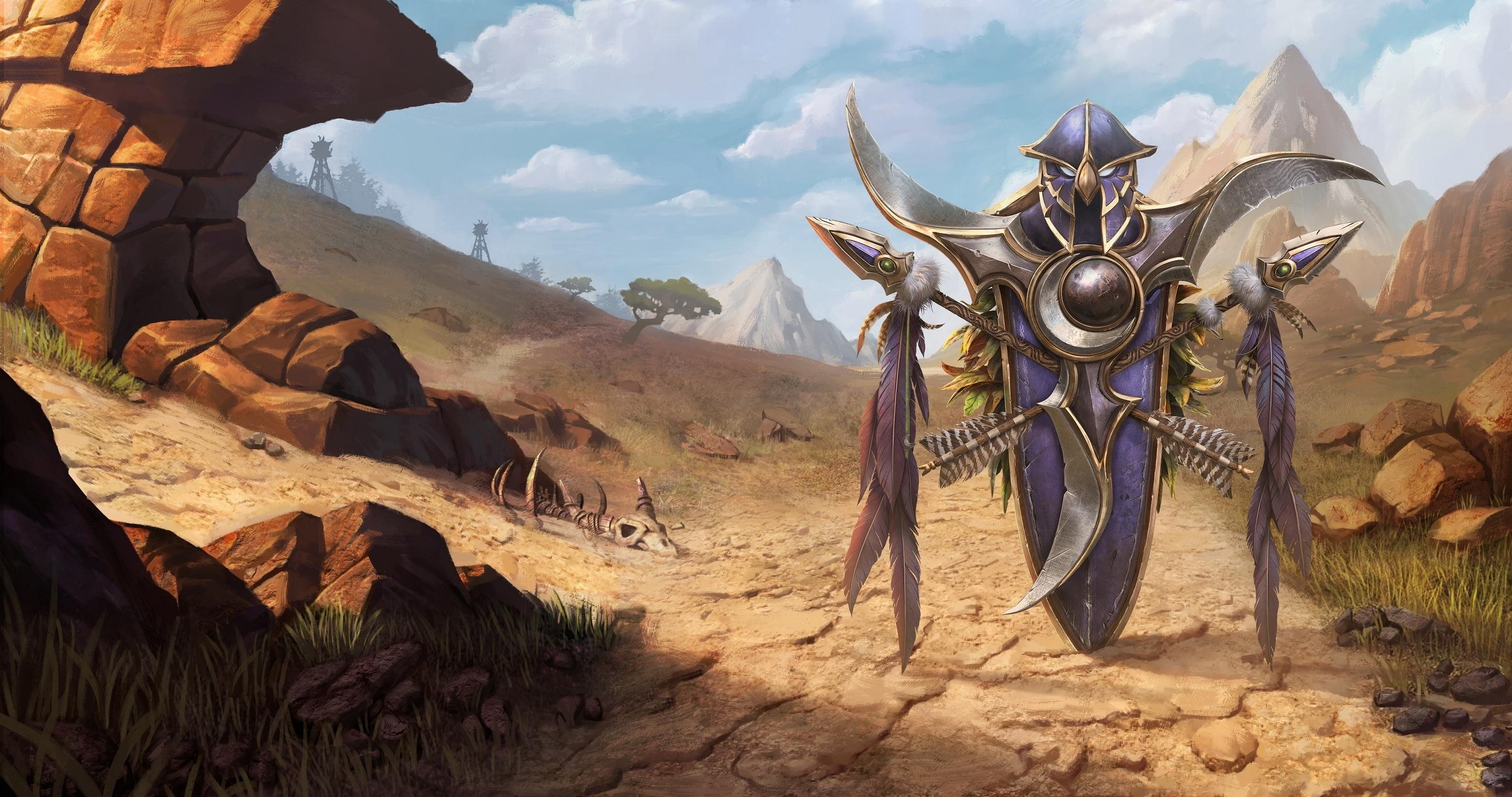 Утечка: обои, меню, интерфейс и иконки Warcraft III: Reforged 12