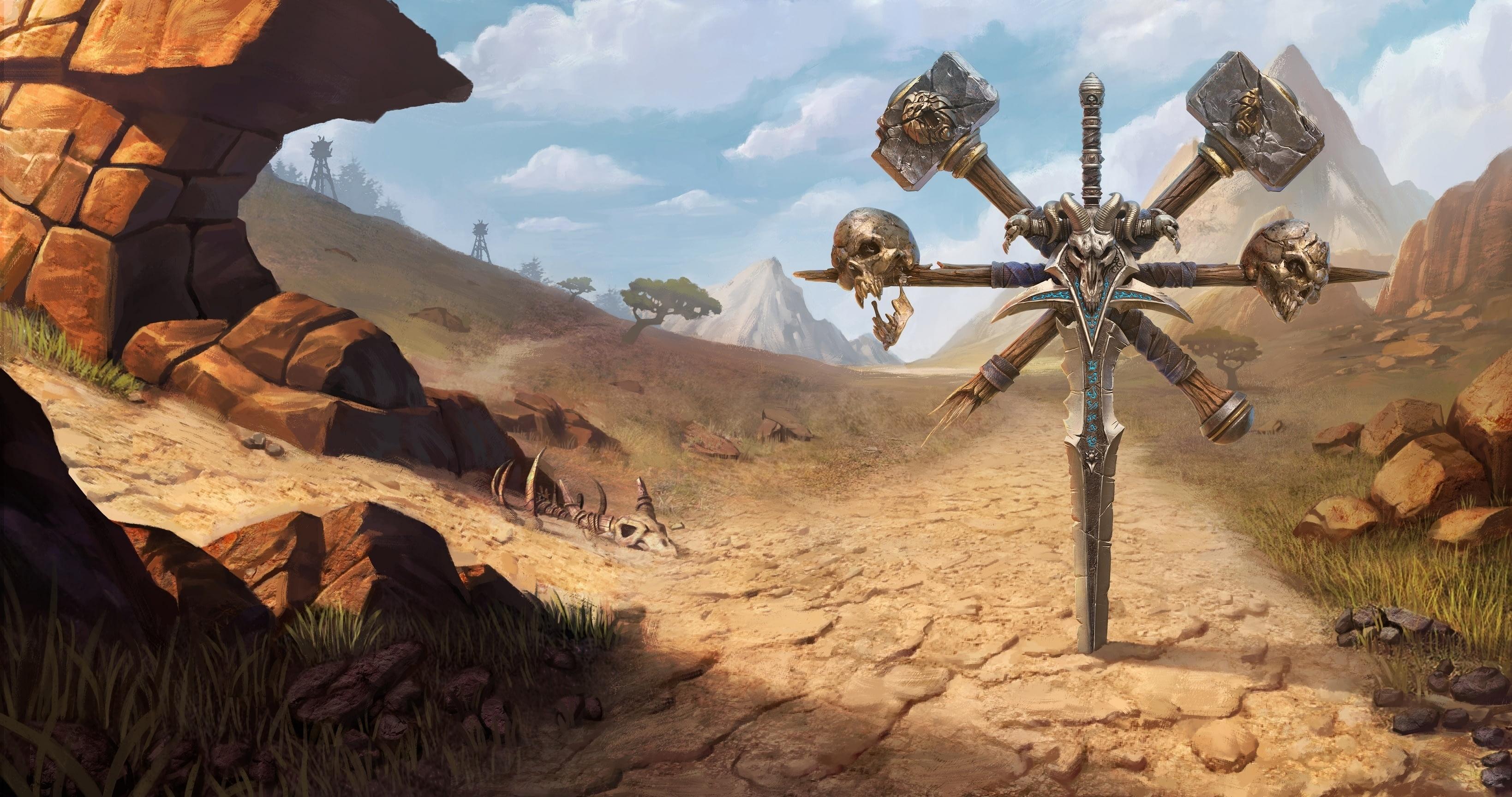 Утечка: обои, меню, интерфейс и иконки Warcraft III: Reforged 13
