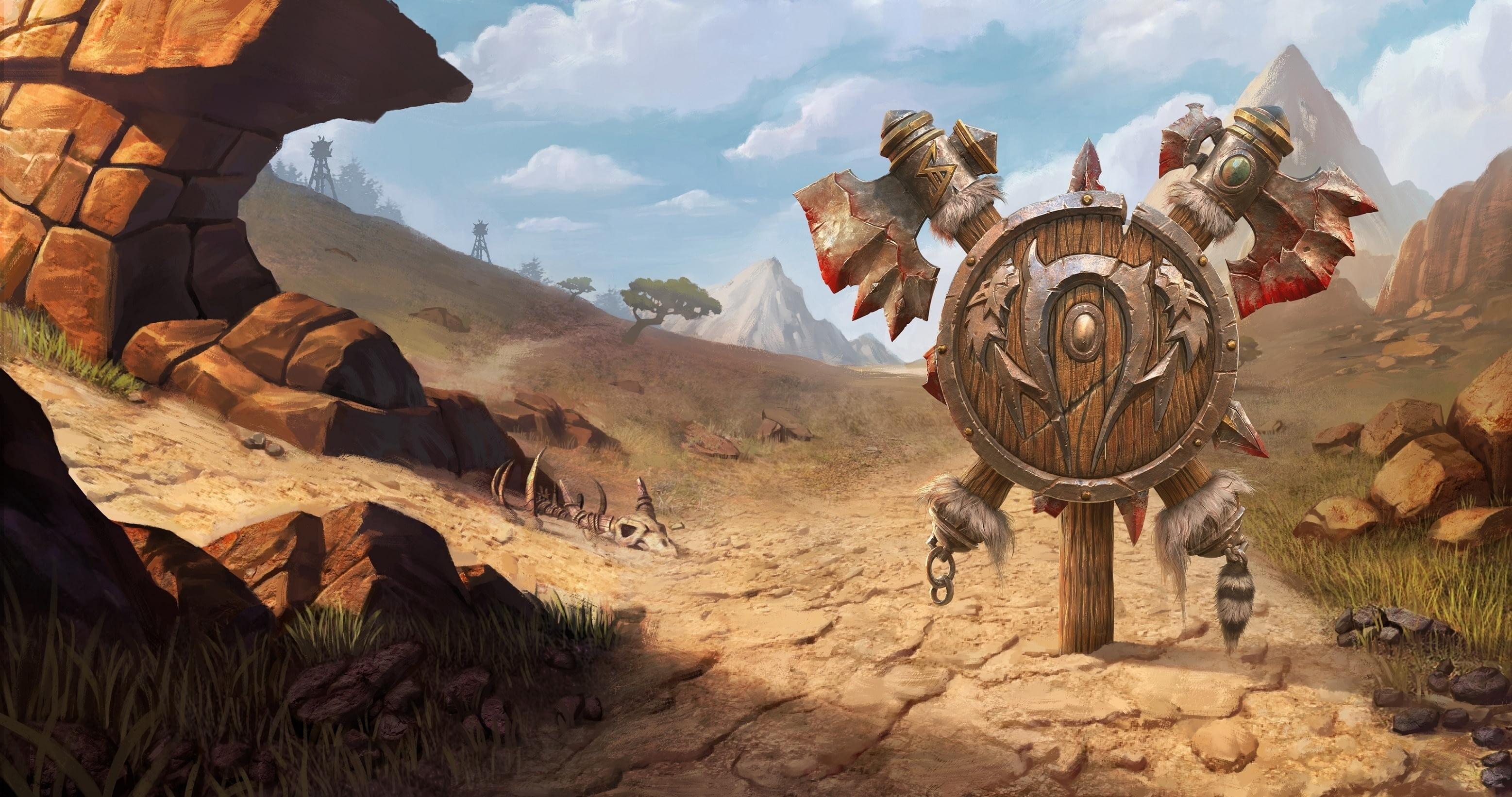 Утечка: обои, меню, интерфейс и иконки Warcraft III: Reforged 14
