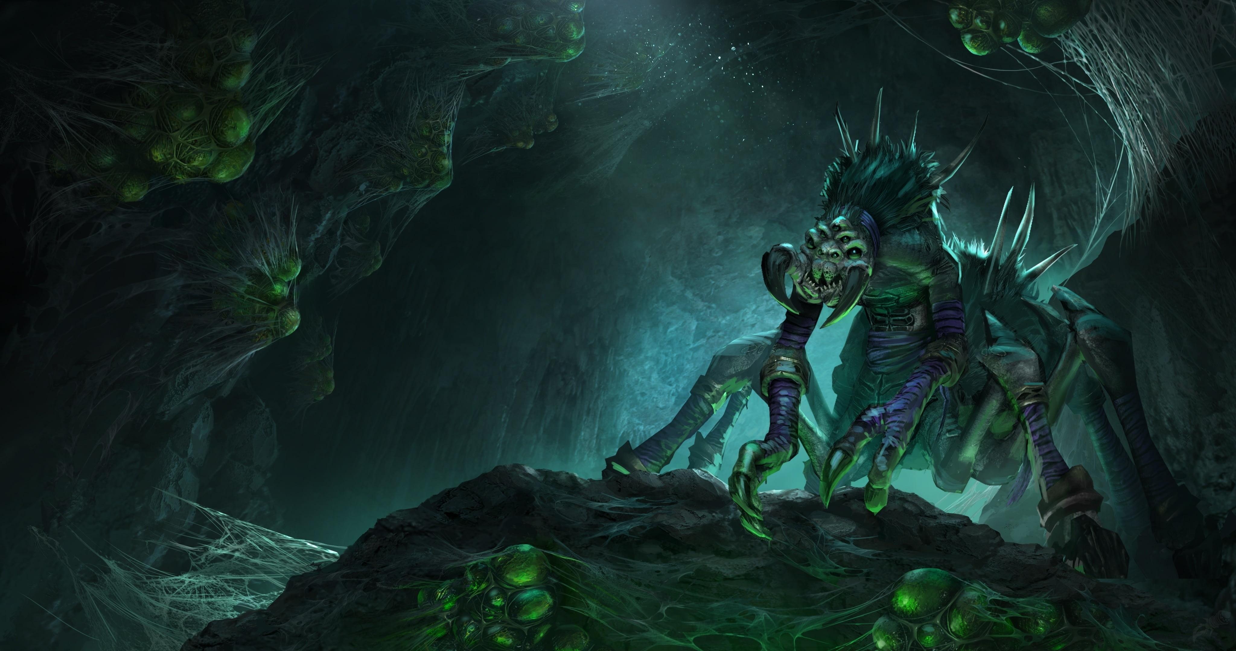 Утечка: обои, меню, интерфейс и иконки Warcraft III: Reforged 1