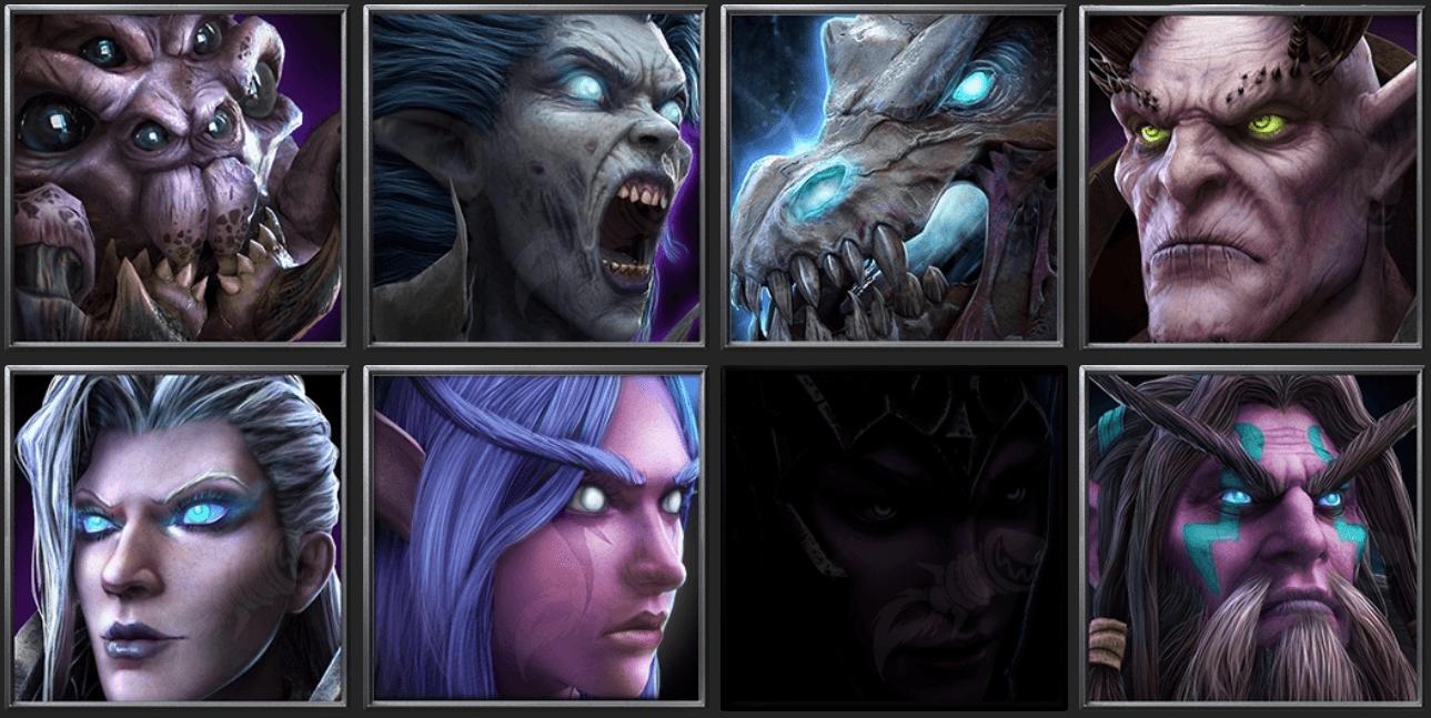 Утечка: обои, меню, интерфейс и иконки Warcraft III: Reforged 17