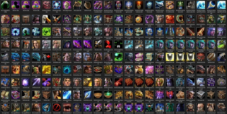 Утечка: обои, меню, интерфейс и иконки Warcraft III: Reforged 23