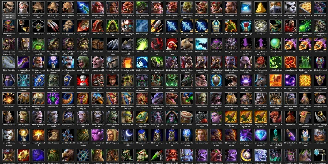 Утечка: обои, меню, интерфейс и иконки Warcraft III: Reforged 24