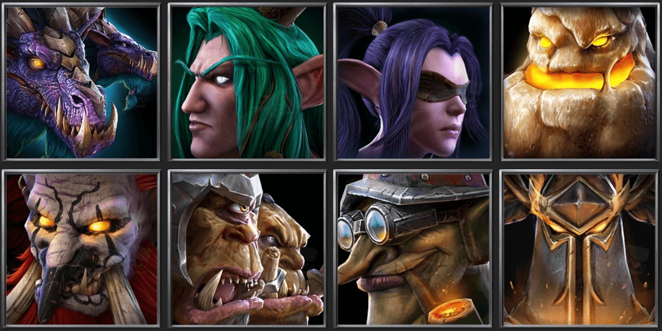 Утечка: обои, меню, интерфейс и иконки Warcraft III: Reforged 18