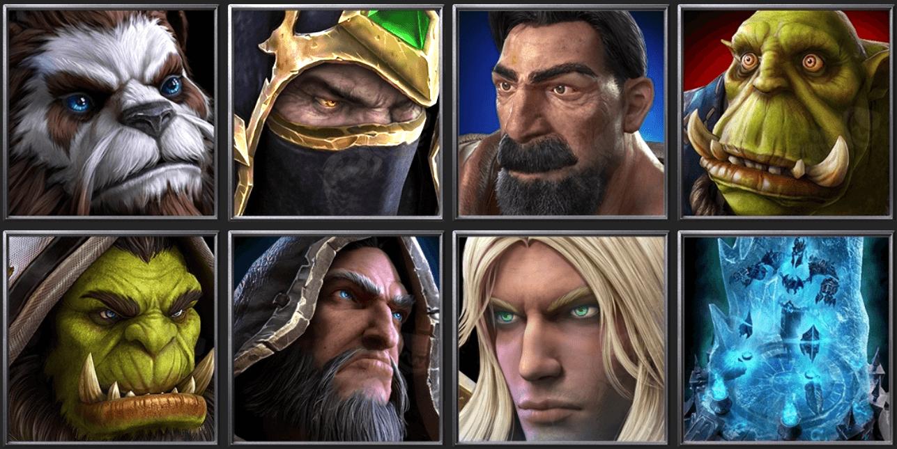 Утечка: обои, меню, интерфейс и иконки Warcraft III: Reforged 19