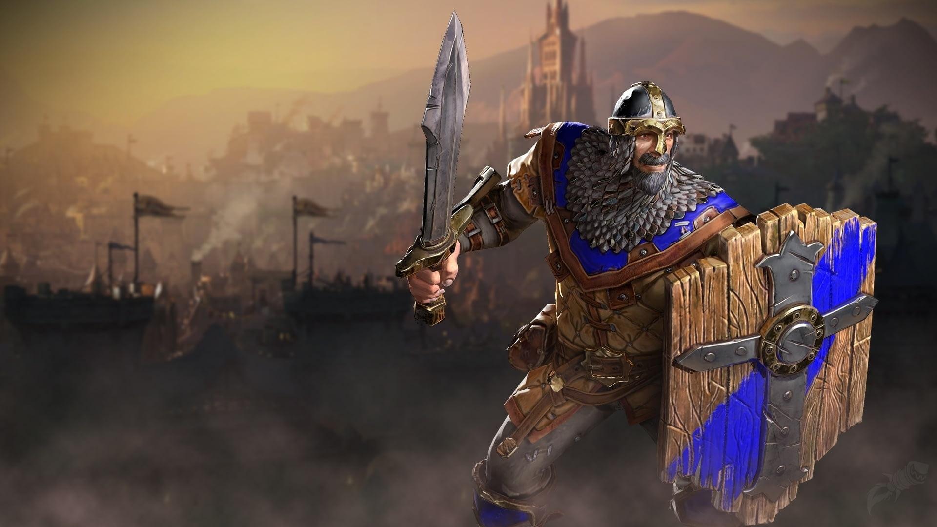 Утечка: обои, меню, интерфейс и иконки Warcraft III: Reforged 4