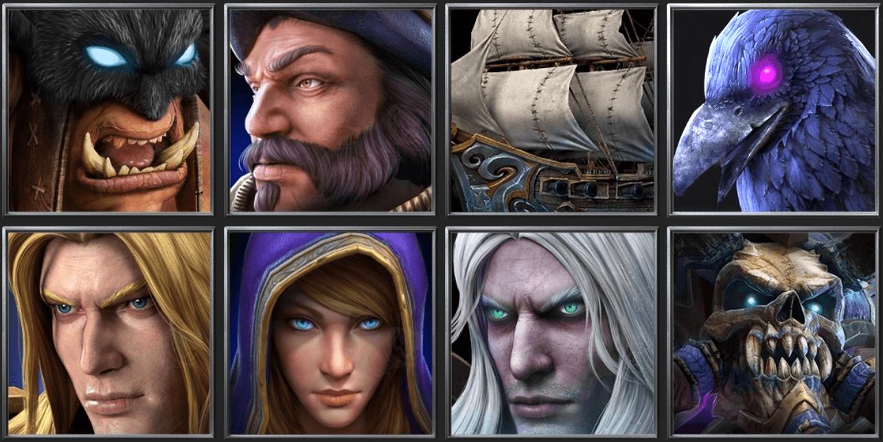 Утечка: обои, меню, интерфейс и иконки Warcraft III: Reforged 20