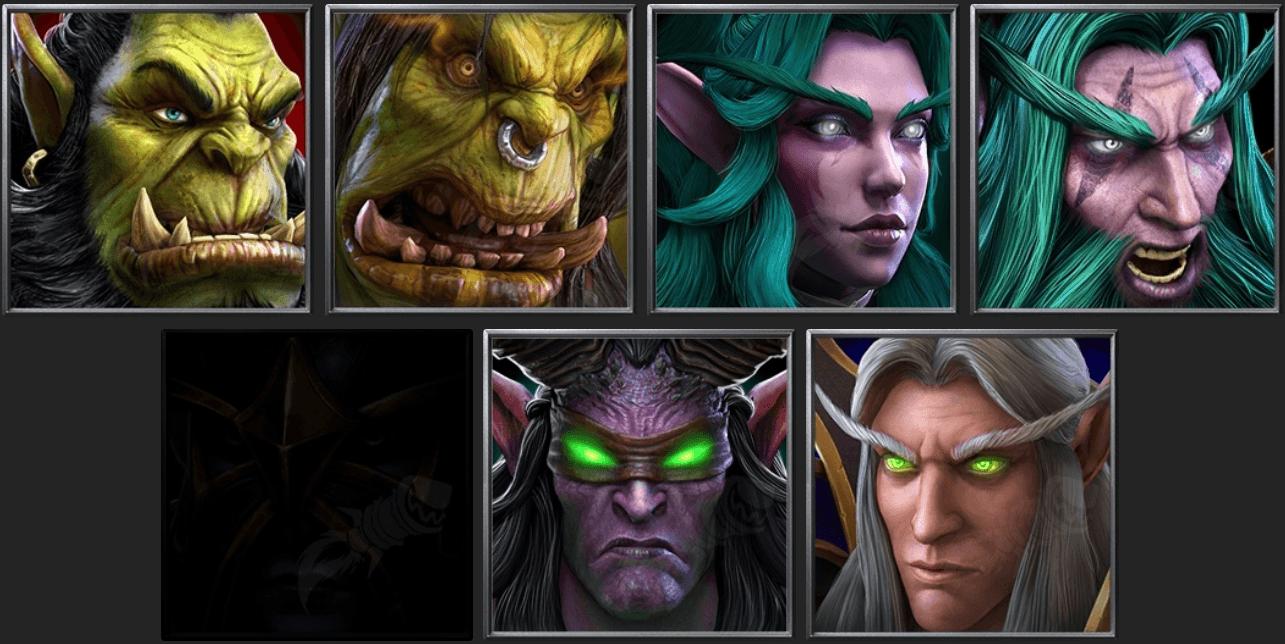 Утечка: обои, меню, интерфейс и иконки Warcraft III: Reforged 21