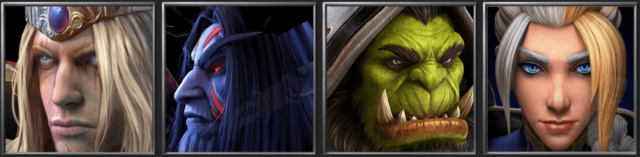 Утечка: обои, меню, интерфейс и иконки Warcraft III: Reforged 22