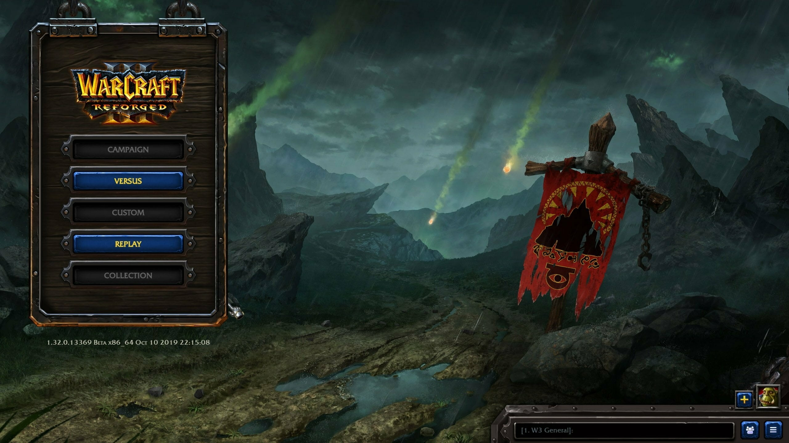 Утечка: обои, меню, интерфейс и иконки Warcraft III: Reforged