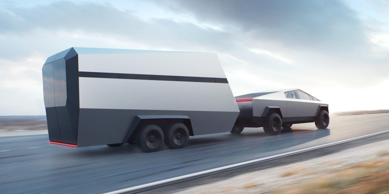 Илон Маск представил футуристический бронированный (почти!) пикап Tesla Cybertruck 3