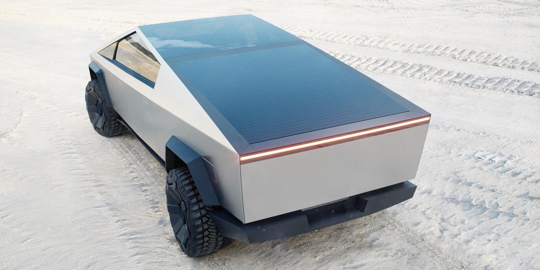Илон Маск представил футуристический бронированный (почти!) пикап Tesla Cybertruck 4