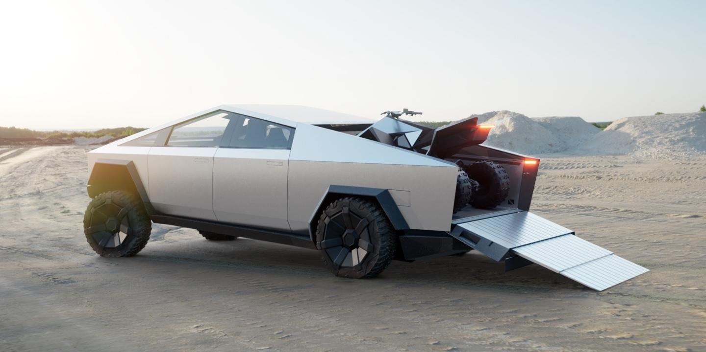 Илон Маск представил футуристический бронированный (почти!) пикап Tesla Cybertruck