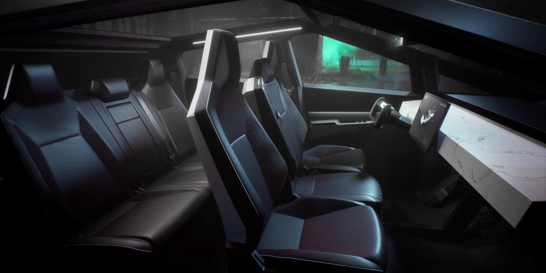 Илон Маск представил футуристический бронированный (почти!) пикап Tesla Cybertruck 5