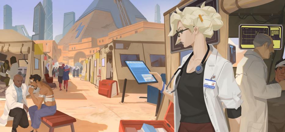 Blizzard опубликовала рассказ о прошлом Ангела и запустила ивент в её честь