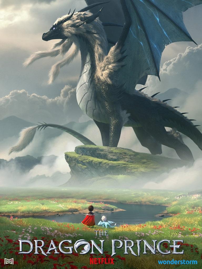 Три дракона на постера мультсериала «Принц-дракон» 2