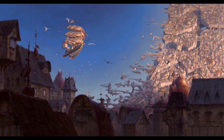 Арт: иллюстрации и концепты мультфильма «Планета сокровищ»