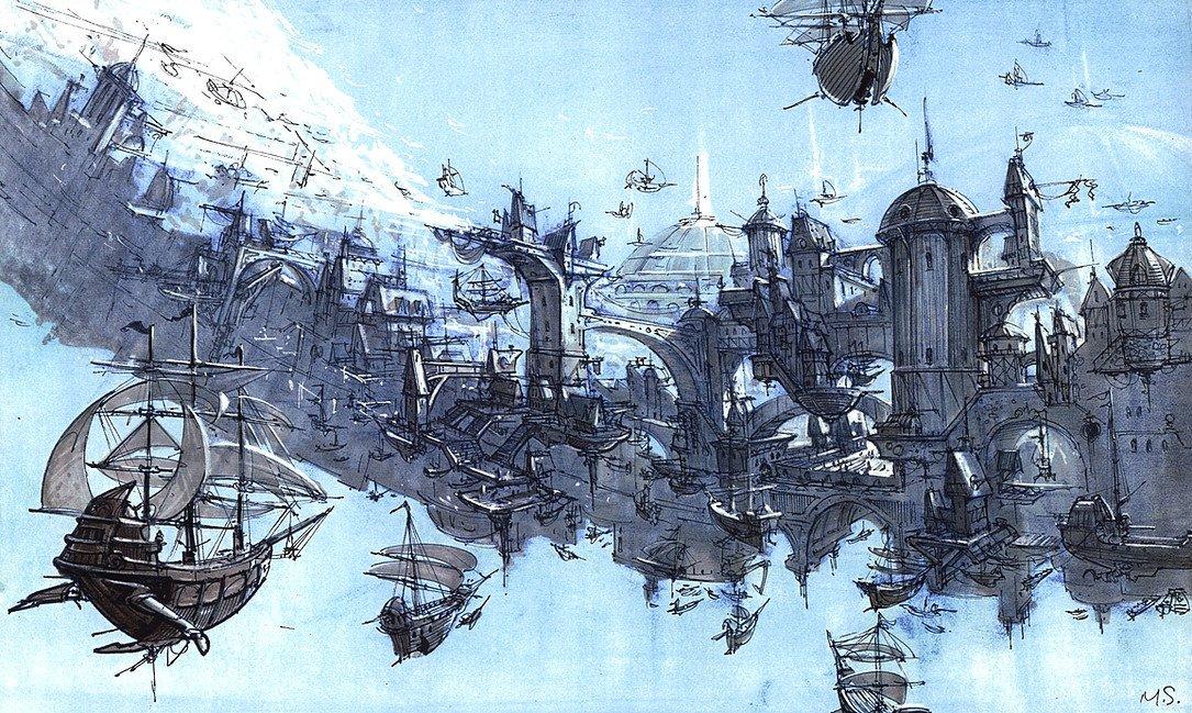 Арт: иллюстрации и концепты мультфильма «Планета сокровищ» 9