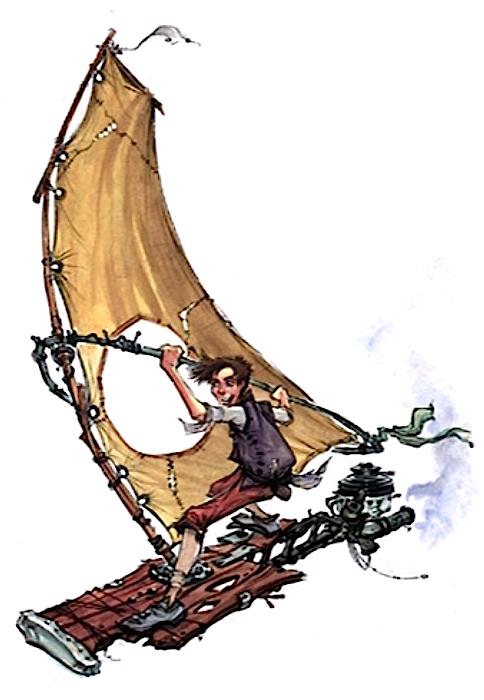 Арт: иллюстрации и концепты мультфильма «Планета сокровищ» 13