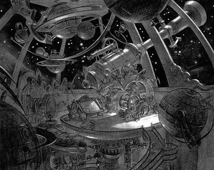 Арт: иллюстрации и концепты мультфильма «Планета сокровищ» 14