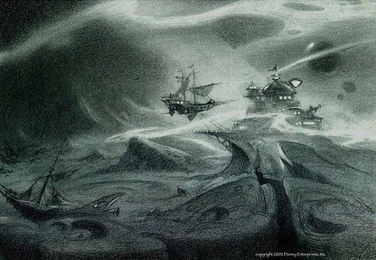 Арт: иллюстрации и концепты мультфильма «Планета сокровищ» 15