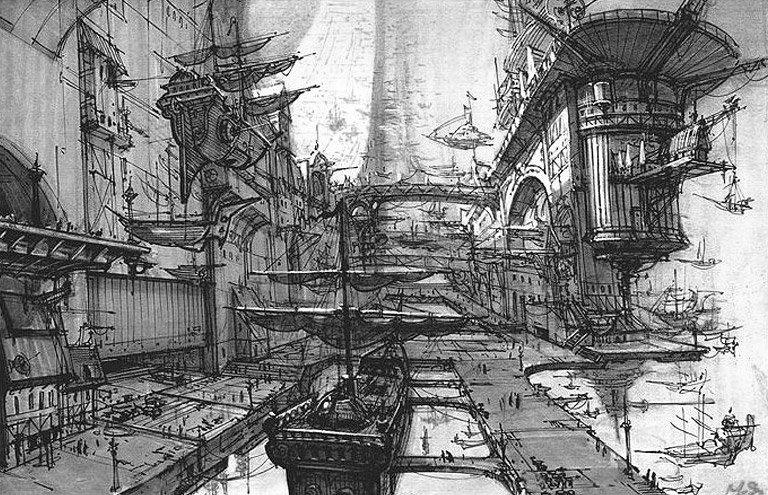 Арт: иллюстрации и концепты мультфильма «Планета сокровищ» 3