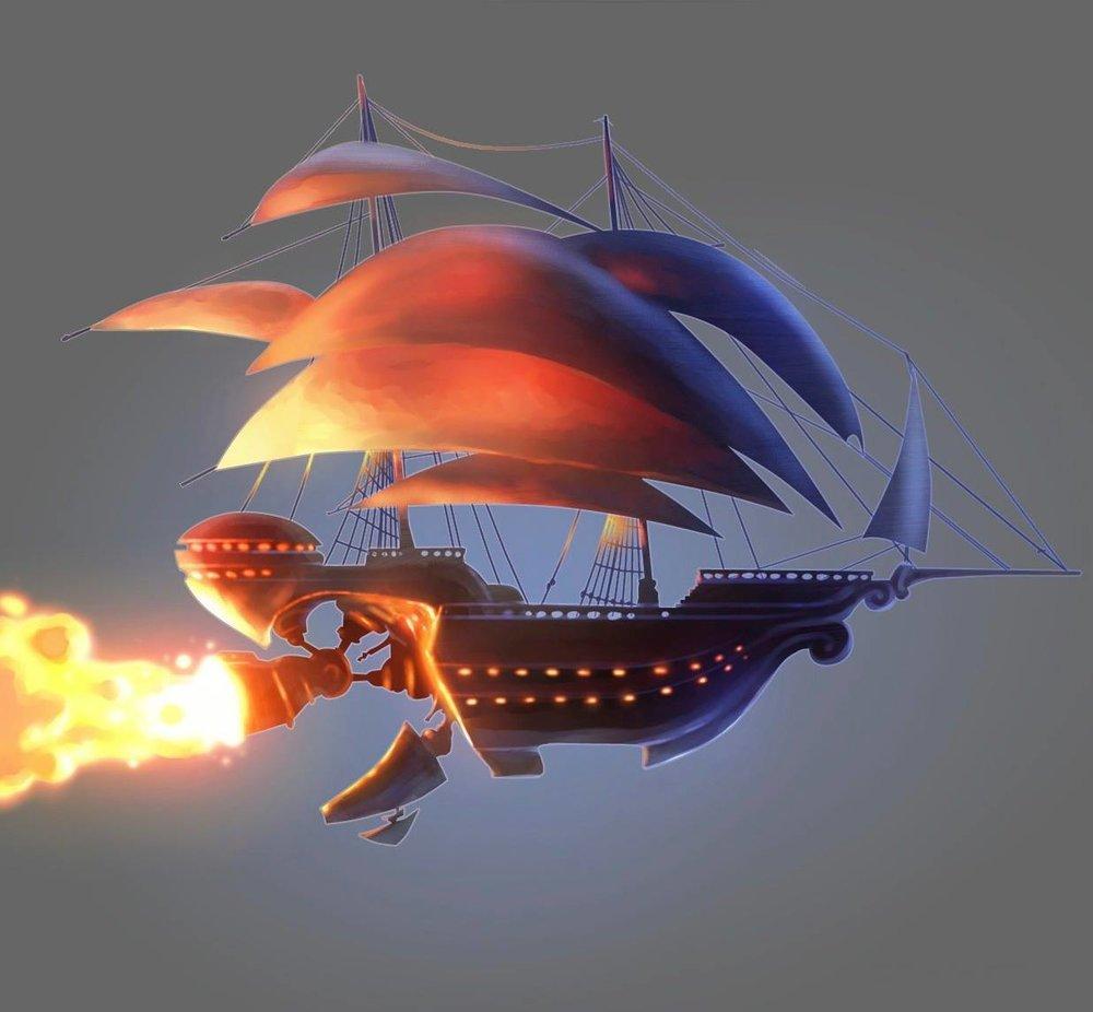 Арт: иллюстрации и концепты мультфильма «Планета сокровищ» 17