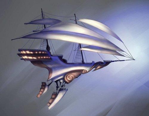 Арт: иллюстрации и концепты мультфильма «Планета сокровищ» 18