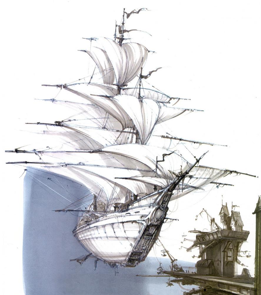 Арт: иллюстрации и концепты мультфильма «Планета сокровищ» 20