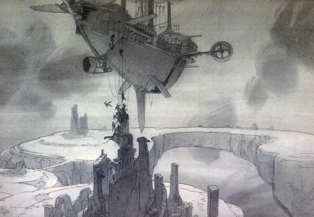 Арт: иллюстрации и концепты мультфильма «Планета сокровищ» 21