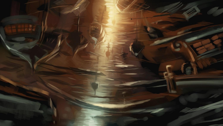 Арт: иллюстрации и концепты мультфильма «Планета сокровищ» 19
