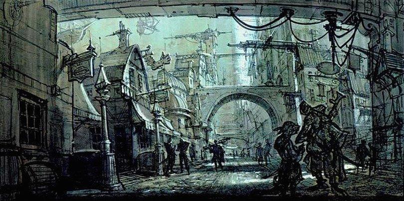 Арт: иллюстрации и концепты мультфильма «Планета сокровищ» 25