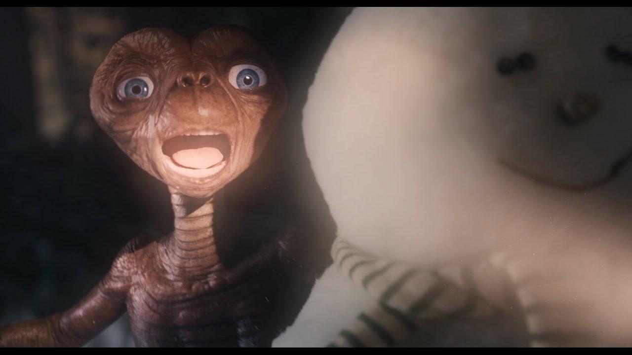 Короткометражка: рекламный ролик с вернувшимся «Инопланетянином»