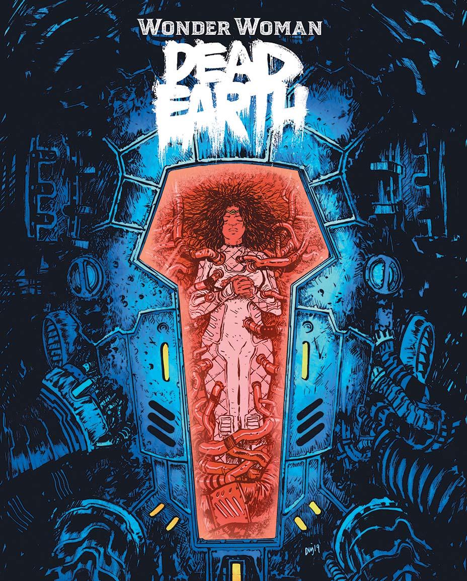 Монстры и постапокалипсис. Первые кадры «мрачной» мини-серии комиксов о Чудо-Женщине 1