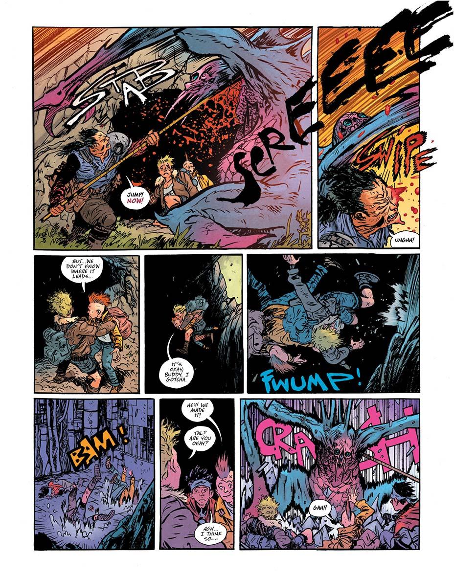 Монстры и постапокалипсис. Первые кадры «мрачной» мини-серии комиксов о Чудо-Женщине 2