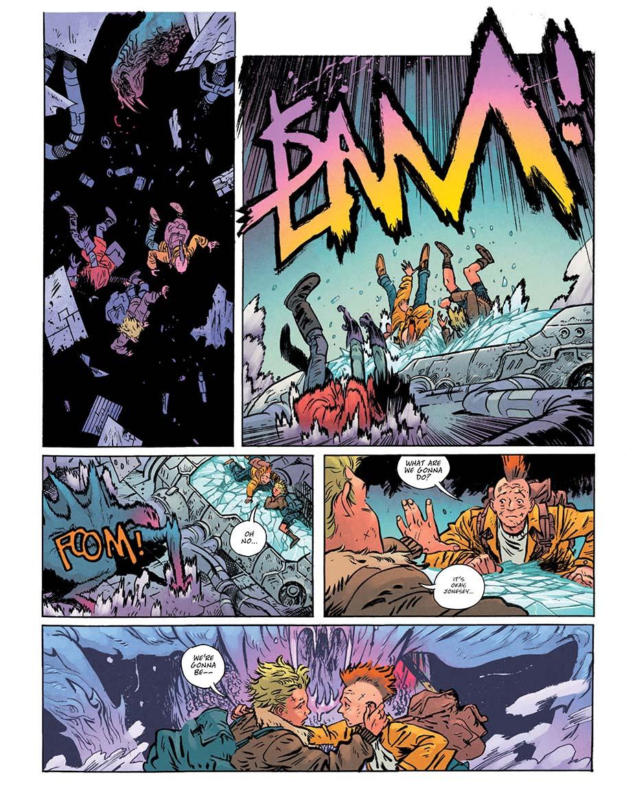Монстры и постапокалипсис. Первые кадры «мрачной» мини-серии комиксов о Чудо-Женщине 3