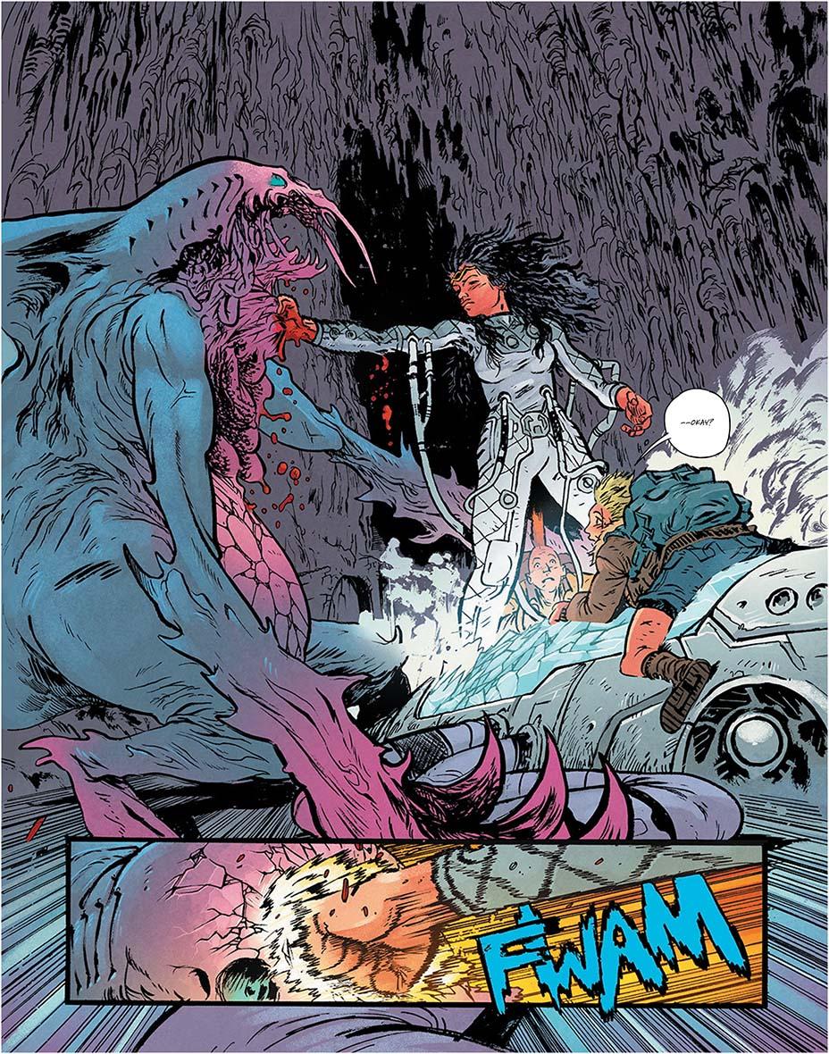 Монстры и постапокалипсис. Первые кадры «мрачной» мини-серии комиксов о Чудо-Женщине 4