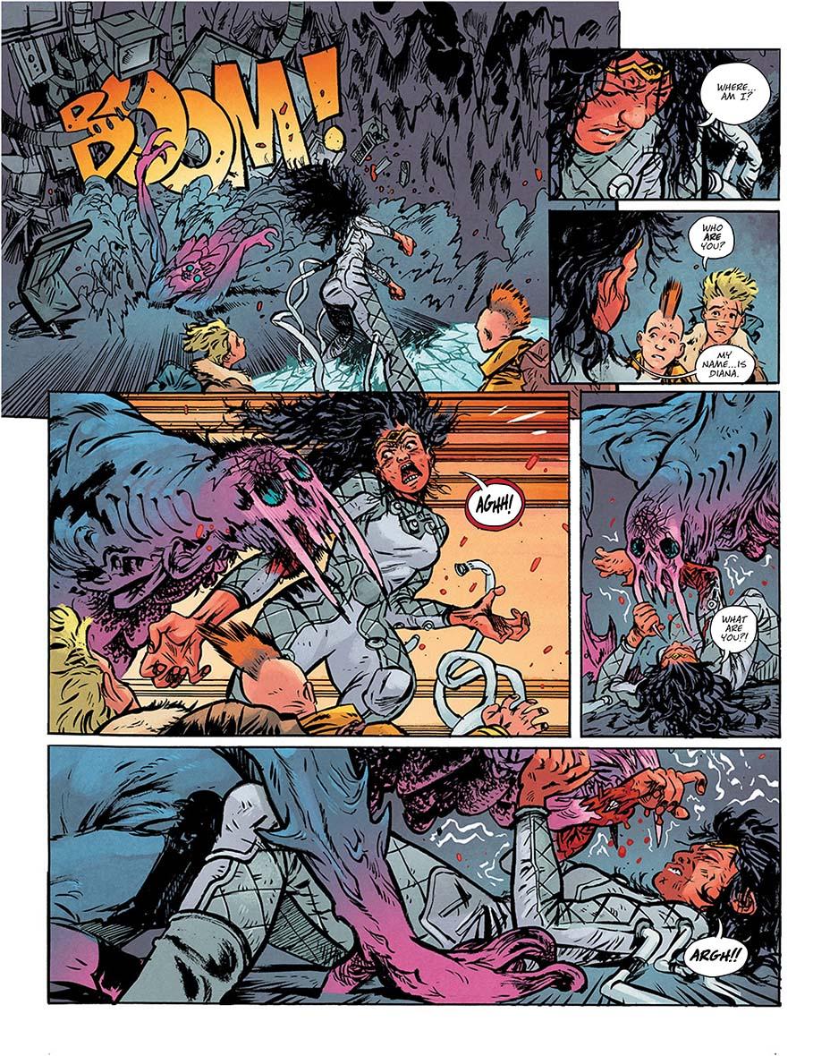 Монстры и постапокалипсис. Первые кадры «мрачной» мини-серии комиксов о Чудо-Женщине 5