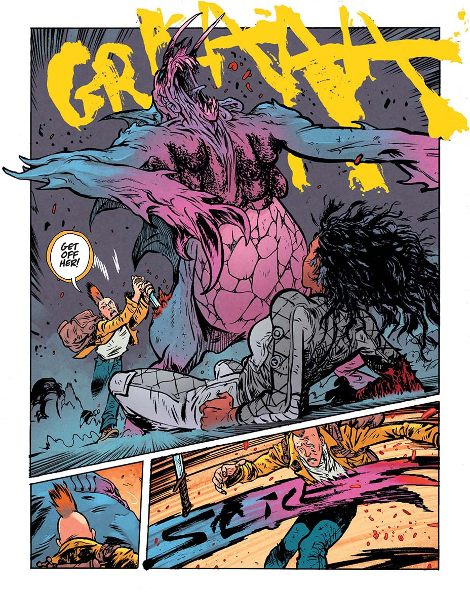 Монстры и постапокалипсис. Первые кадры «мрачной» мини-серии комиксов о Чудо-Женщине 6